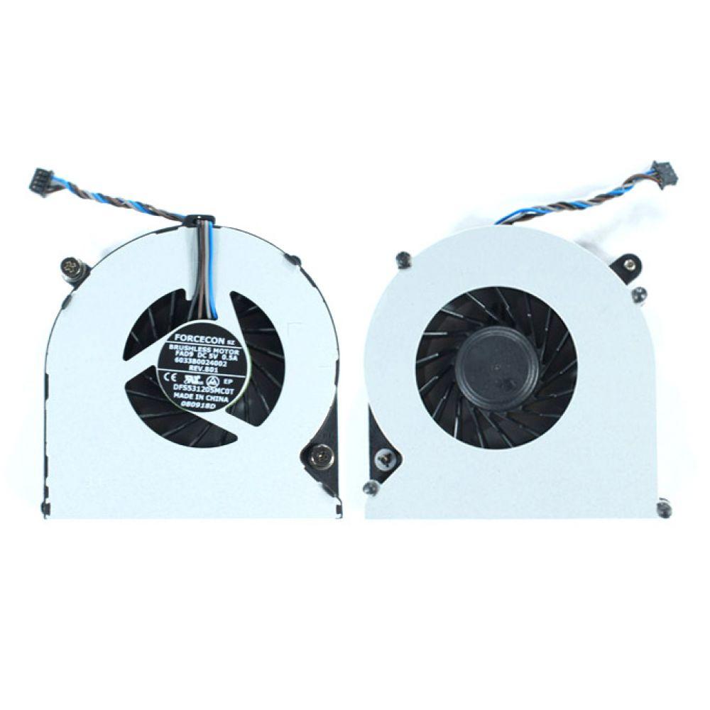 Вентилятор для ноутбука HP PROBOOK 8470P, DC 5V 0.5A, 4pin | FORCECON DFS531205MC0T | Кулер| Оригинал