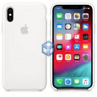 Силиконовый Чехол iPhone X / XS Silicone Case White