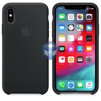 Силиконовый Чехол iPhone X / XS Silicone Case Black