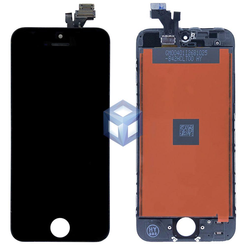 Дисплей iPhone 5 черный (LCD экран, сенсор, стекло, модуль в сборе)