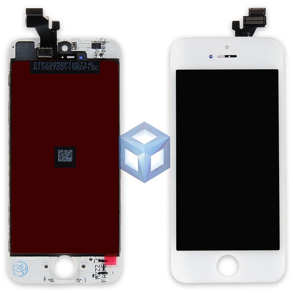 Дисплей iPhone 5 белый (LCD экран, сенсор, стекло, модуль в сборе)