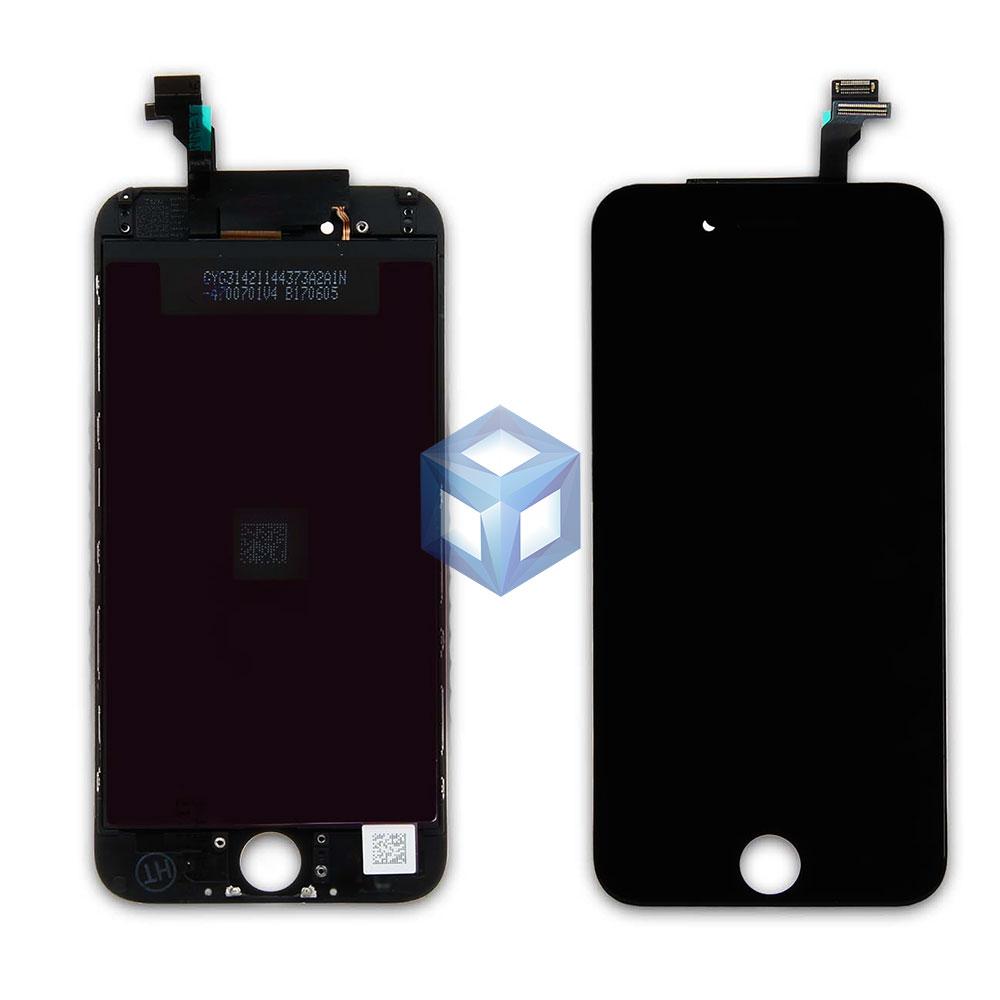 Дисплей iPhone 6 черный (LCD экран, сенсор, стекло, модуль в сборе)