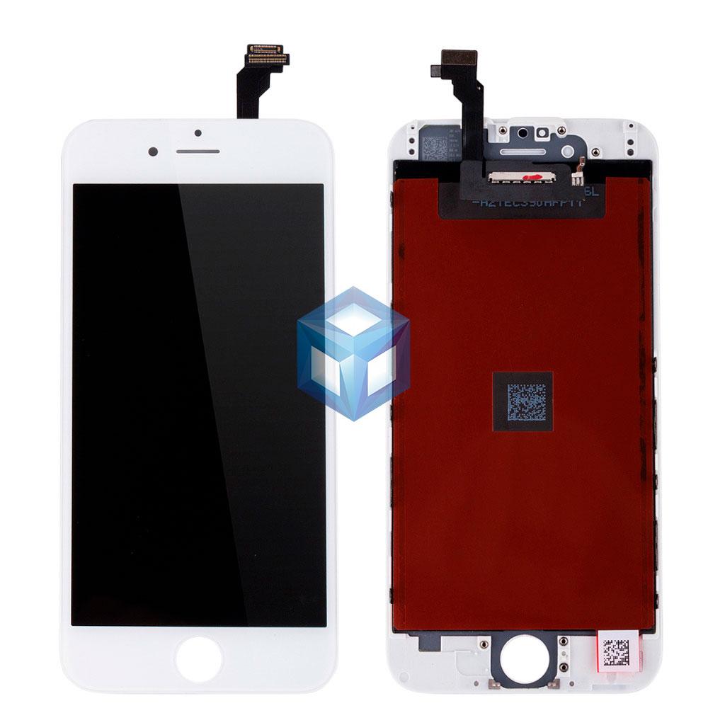 Дисплей iPhone 6 белый (LCD экран, сенсор, стекло, модуль в сборе)