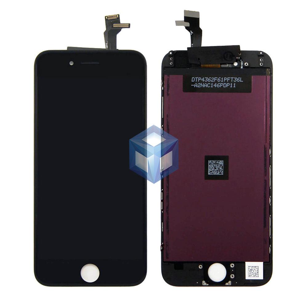 Оригинальный дисплей iPhone 6 черный (LCD экран, сенсор, стекло, модуль в сборе)