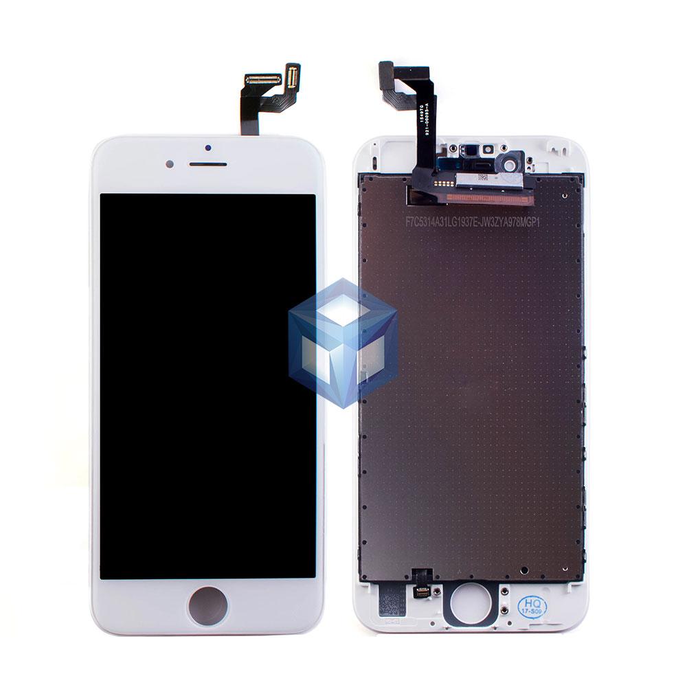 Дисплей iPhone 6S белый (LCD экран, сенсор, стекло, модуль в сборе)
