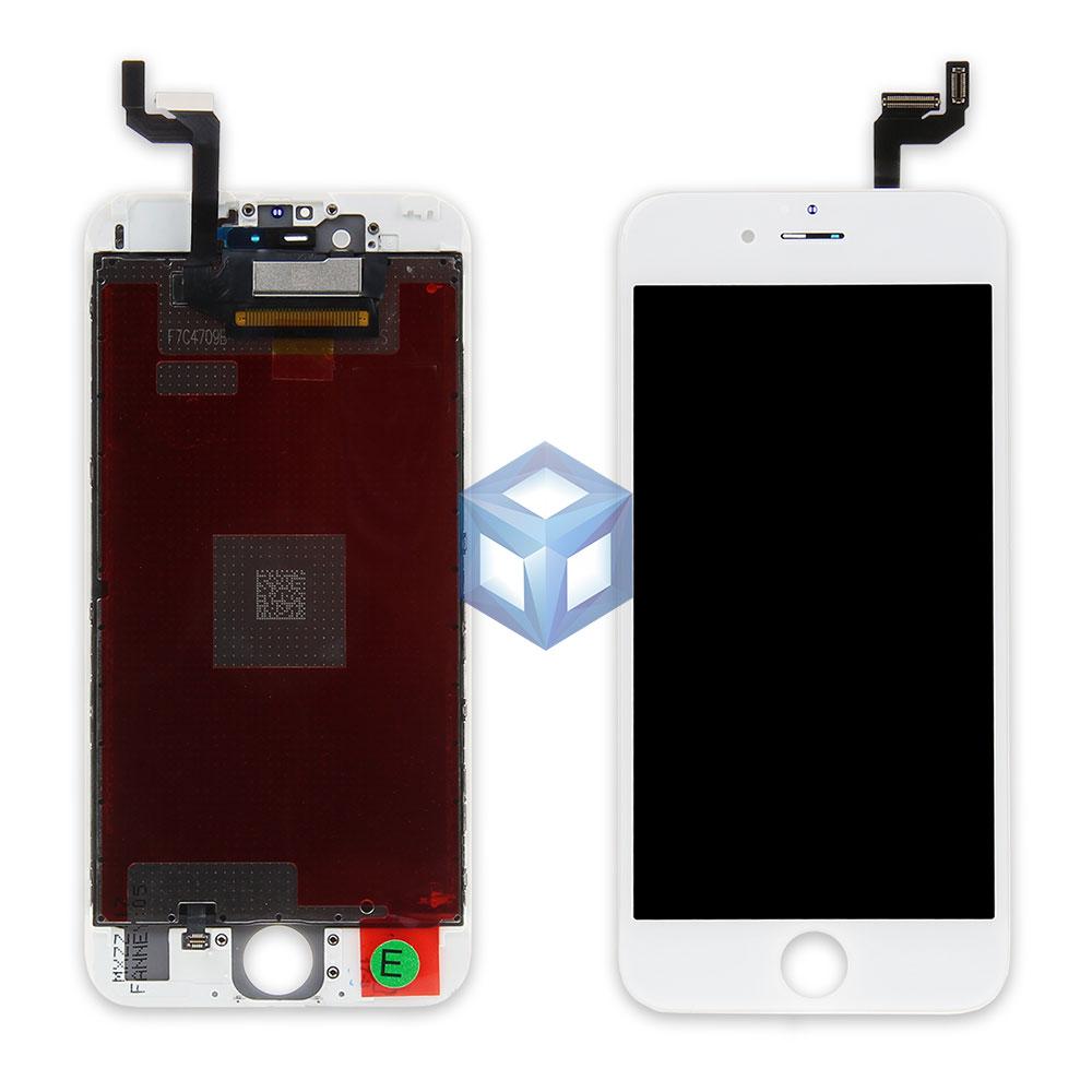 Оригинальный дисплей iPhone 6S белый (LCD экран, сенсор, стекло, модуль в сборе)