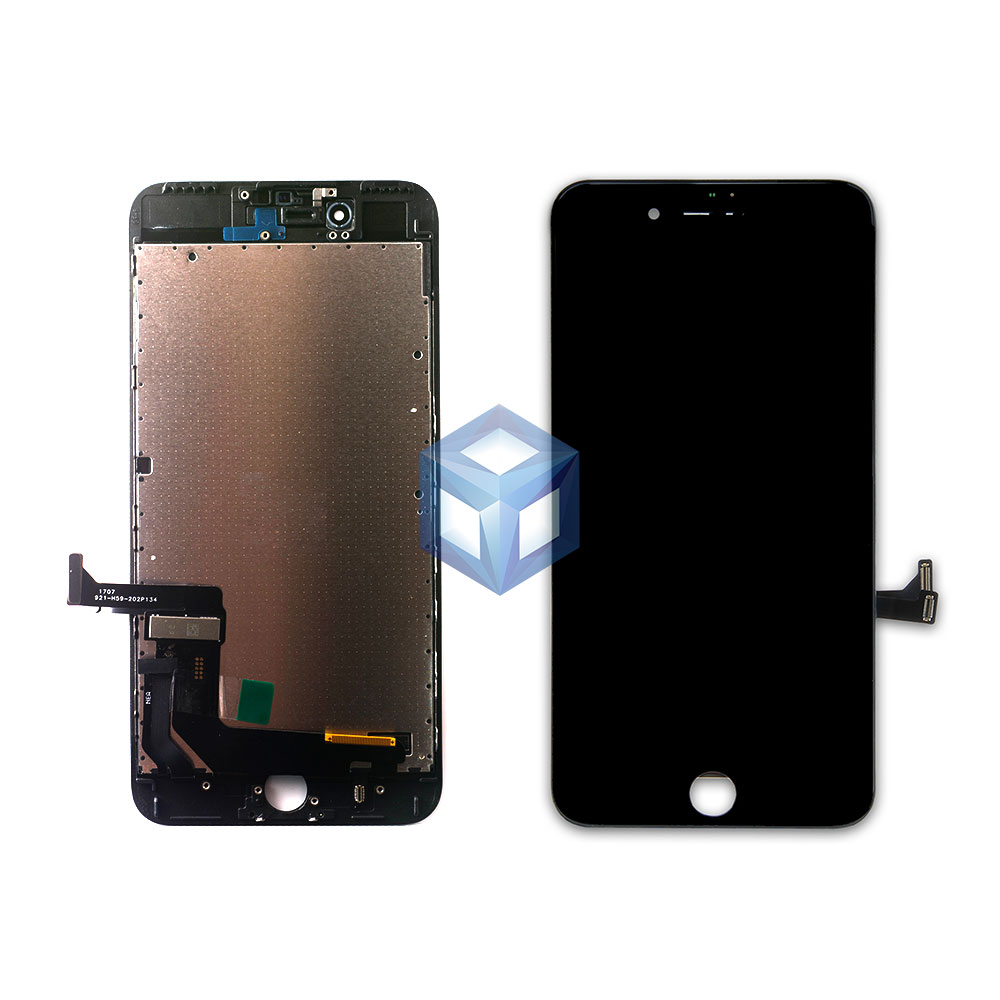 Дисплей iPhone 7 Plus черный (LCD экран, сенсор, стекло, модуль в сборе)