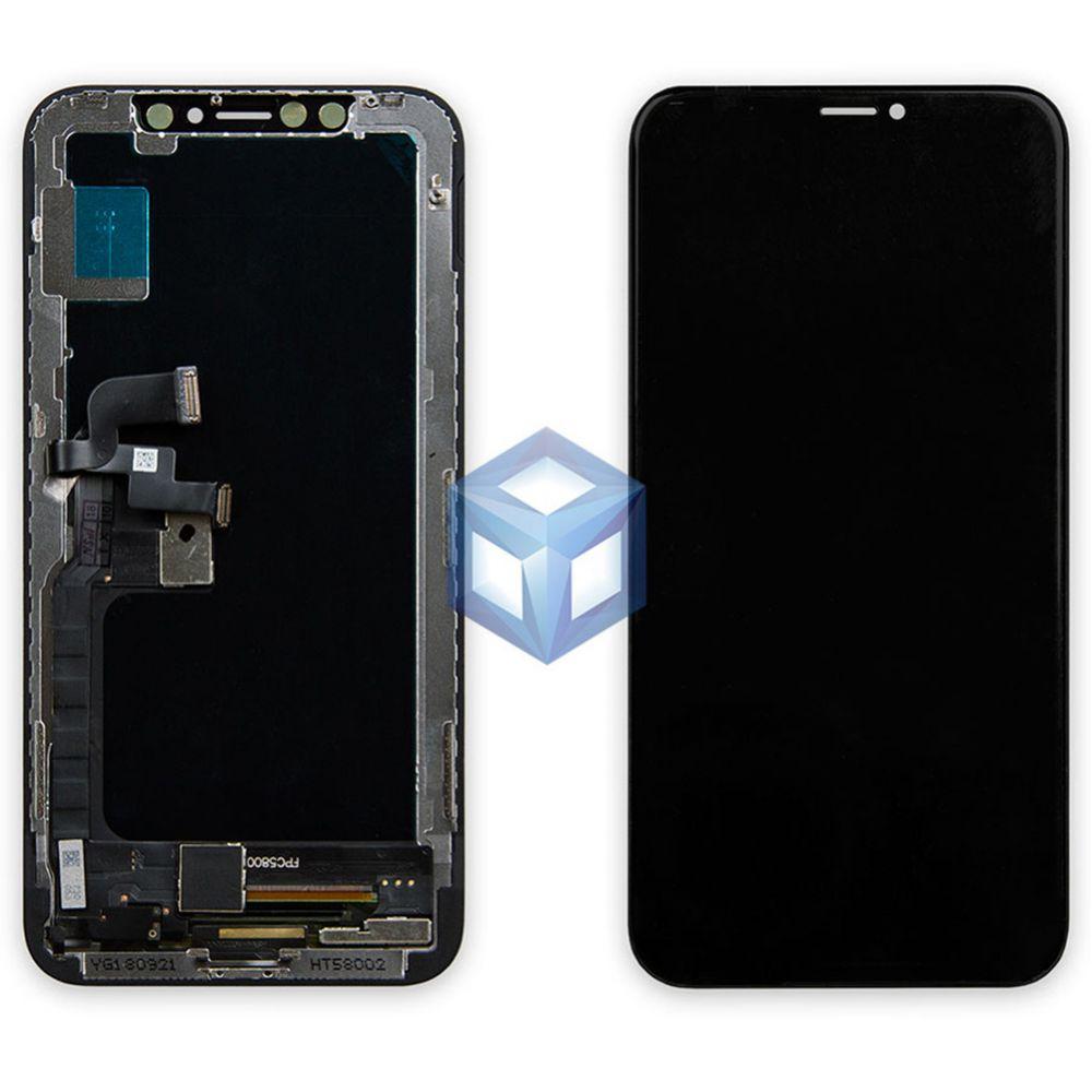 Оригинальный Дисплей iPhone X черный (LCD экран, сенсор, стекло, модуль в сборе)
